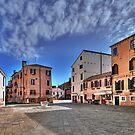 A hidden, quiet Venice - Campo de l'Anzolo Rafael by paolo1955