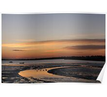 Christchurch harbour Poster