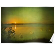 Sunset over Pulbah Poster