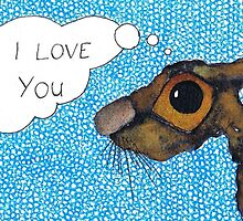 I LOVE YOU by Hares & Critters