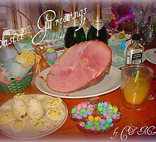EASTER'S LOOKING GOOD! by Claire Moreau