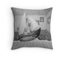 Wo die wilden Kerle wohnen Throw Pillow