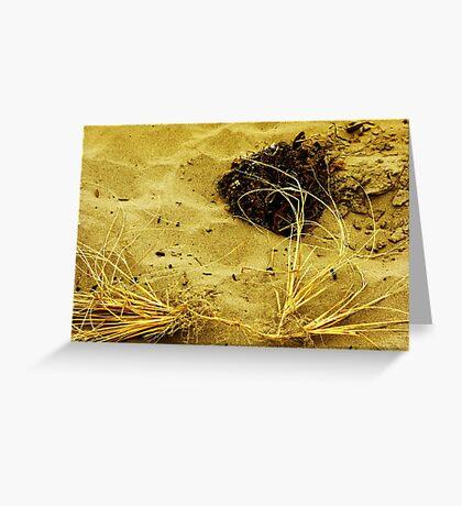 Beach Brush Greeting Card