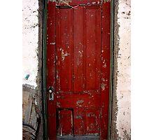 Forgotten Door Photographic Print