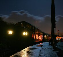 D6737 in the dark at Totnes by Nathan83a