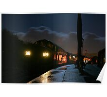 D6737 in the dark at Totnes Poster