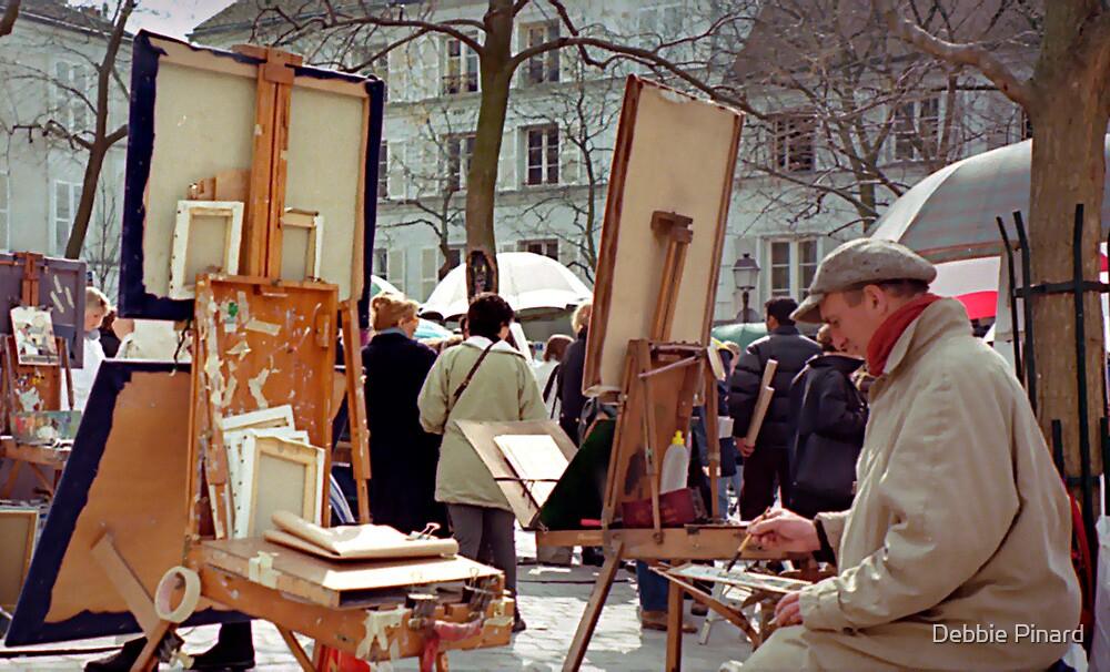 Artist - Montmartre, Paris by Debbie Pinard