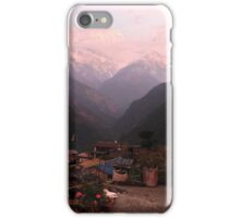 Gangdruk on the Annapurna trek in Nepal iPhone Case/Skin