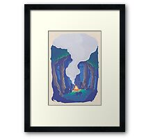 CT : Calm Night (7 left) Framed Print