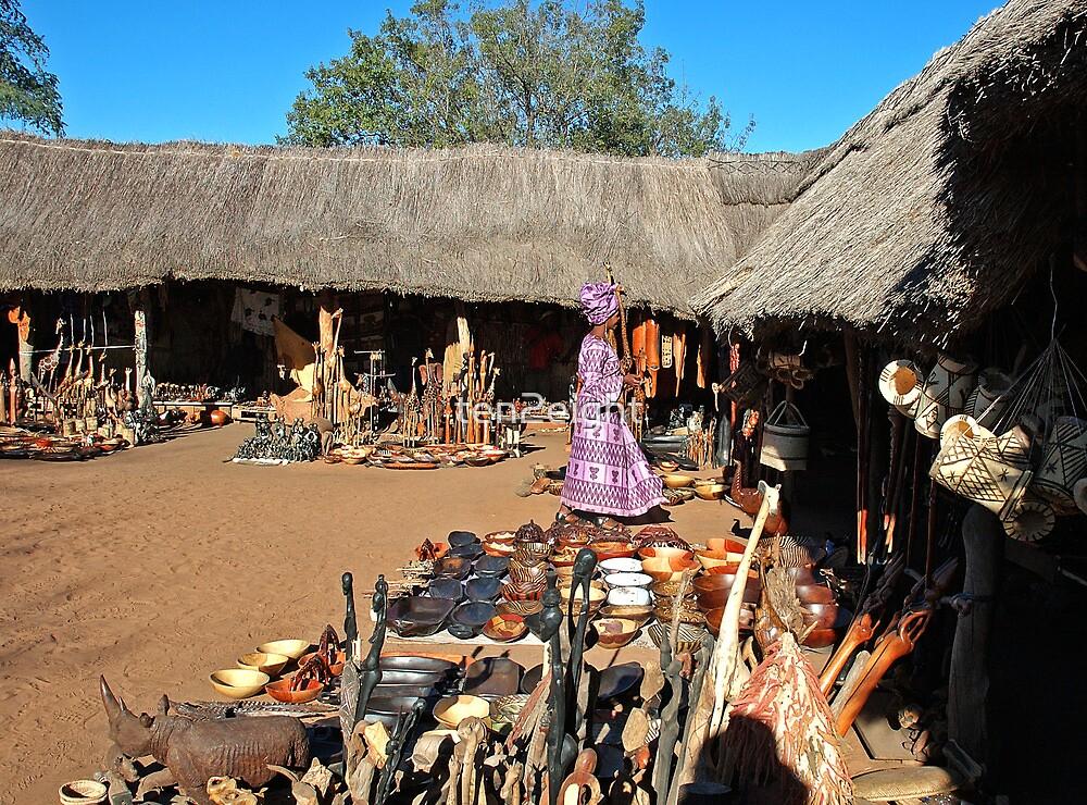 Chief Mukuni's Village Market. by ten2eight