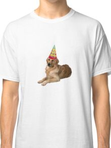 Golden Retriever Birthday Classic T-Shirt