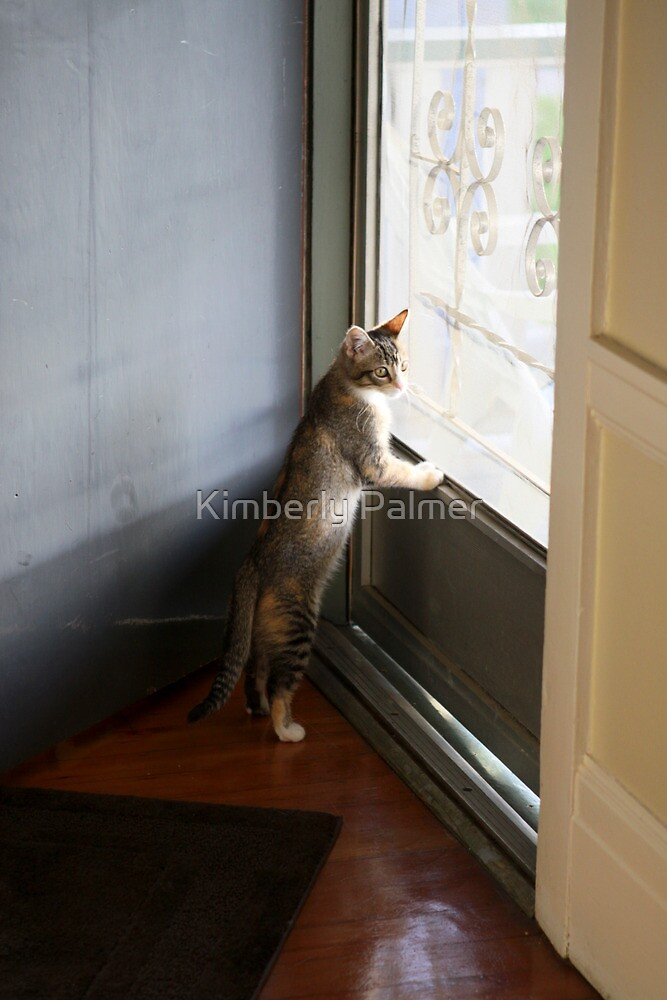 Mallory at the door by Kimberly Palmer