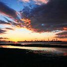 Tsawassen Sunset by EchoNorth