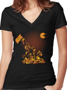 Epics Women's Fitted V-Neck T-Shirt