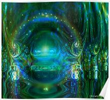 Throneroom glory: Emerald Ambience Poster