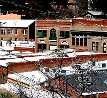 Old Bisbee, Arizona by Kimberly Miller