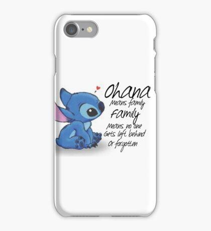 Ohana iPhone Case/Skin