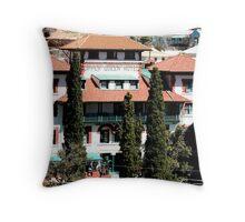 Copper Queen Hotel, Bisbee, Arizona Throw Pillow