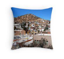 Old Bisbee, Arizona Throw Pillow