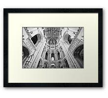 Vaulting Religion Framed Print