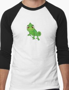 Pascal on a pastel background Men's Baseball ¾ T-Shirt