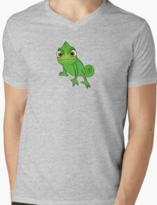 Pascal on a pastel background Mens V-Neck T-Shirt