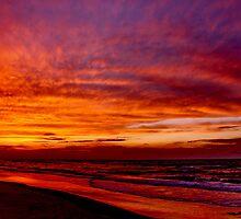 SINAI  SUNSET by Khaled EL Tangeer