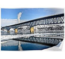 Peace River Bridge  Poster