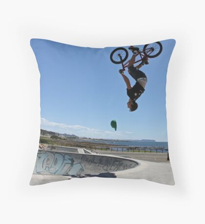 Flipping Hat Throw Pillow