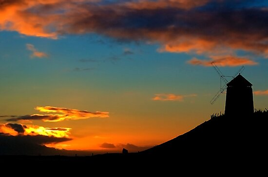 Sunset At The Windmill by Don Alexander Lumsden (Echo7)