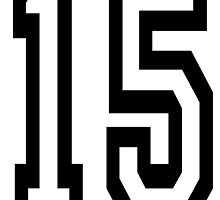15, TEAM SPORTS, NUMBER 15, FIFTEEN, FIFTEENTH, Competition,  by TOM HILL - Designer