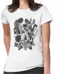 bush walk Womens Fitted T-Shirt
