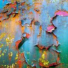 Peeling paint and rust textures 135 by Dave Hare