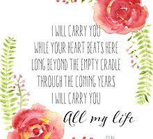 I Will Carry You by luminouslight
