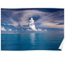 Wistari Reef Cloud Forms - Australia Poster
