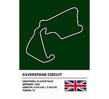 Silverstone Circuit - v2 Photographic Print