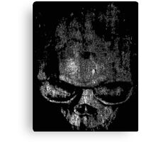 Skull Graphic Canvas Print