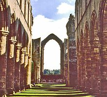 Fountains Abbey by David Davies