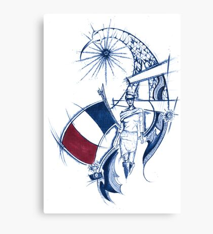 France say Canvas Print