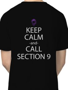 ghost in the shell keep calm call section 9 anime manga shirt Classic T-Shirt