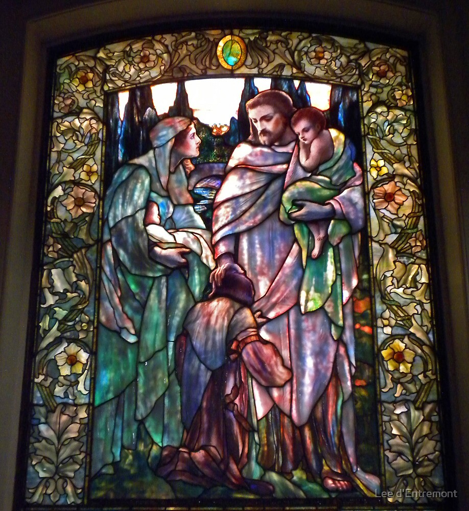 Jesus and the Children by Lee d'Entremont