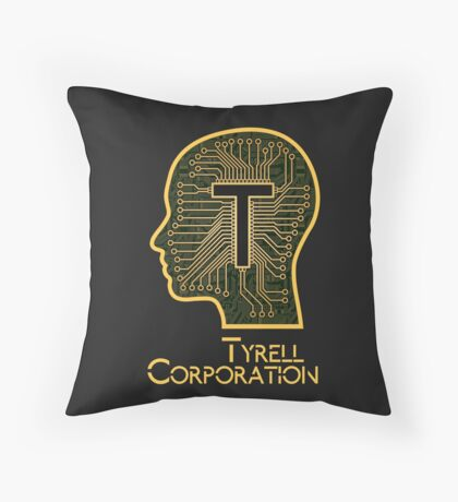 Tyrell Corporation Throw Pillow