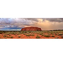 Ayers Rock (Uluru) Sunset, Australia Photographic Print