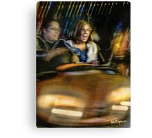 Carney • Bumper Cars Canvas Print