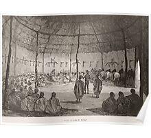 Édouard Riou Visite au naba de Karaga 1892 Poster