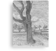 Tree Town Canvas Print