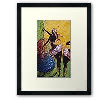 lady Ritmo Framed Print
