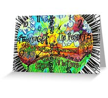 Songs In The Key of Life Greeting Card