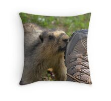 I see a nut! (3) Throw Pillow