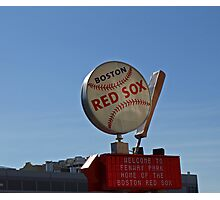 BOSTON RED SOX! Photographic Print